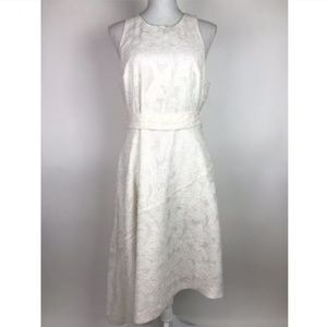 Banana Republic DressIvory White Asymmetrical